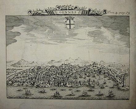 Van der Aa Pieter (1659-1733)  Gennes 1706 Leida