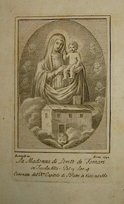 Bombelli P. La Madonna di Loreto de Fornari 1792 Roma