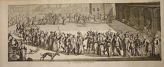Van der Aa Pieter (1659-1733)  Le Carnaval de Venise 1706 Leida