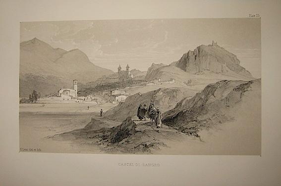 Lear Edward (1812-1888) Castel di Sangro 1846 Londra