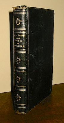 Jacques Henri Bernardin, de Saint-Pierre Etudes de la nature 1863 Paris Librairie de Firmin Didot Frères, Fils, et C.ie
