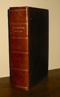 Breviarium romanum ex decreto Sacrosancti Concilii Tridentini... 1857 Florentiae Apud Simonem Birindelli