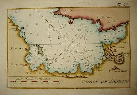 Allezard Jean Joseph - Roux Joseph Golfe de Smirne 1804 Genova