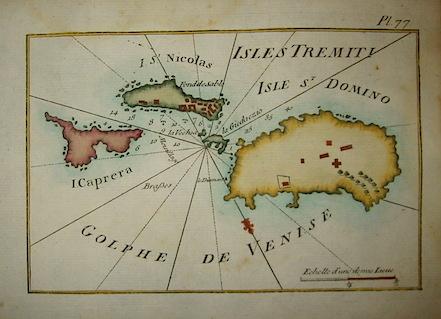Allezard Jean Joseph - Roux Joseph Isles Tremiti 1804 Genova