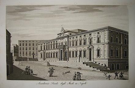 Gandini Francesco Accademia Reale degli Studi in Napoli 1831 Cremona