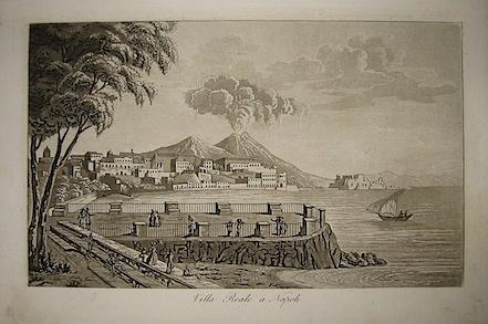 Gandini Francesco Villa Reale a Napoli 1831 Cremona