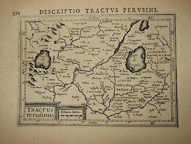 Bertius Petrus Tractus Perusinus 1616 Amsterdam