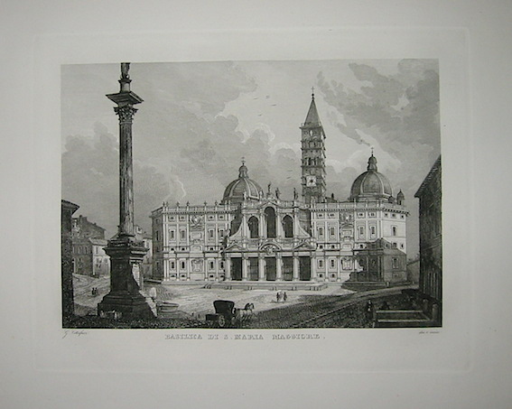 Cottafavi Gaetano (attivo nella prima metà  del XIX Secolo) Basilica di S. Maria Maggiore 1843 Roma
