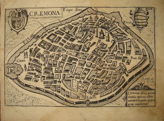 Bertelli Pietro (1571-1621) Cremona 1629 Padova
