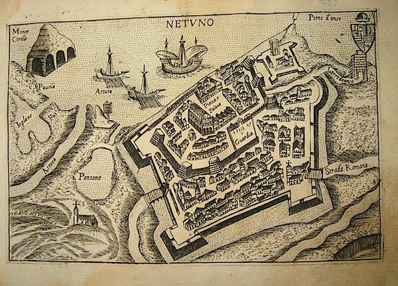 Bertelli Pietro (1571-1621) Netuno 1629 Padova