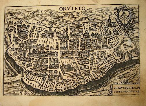 Bertelli Pietro (1571-1621) Orvieto 1629 Padova
