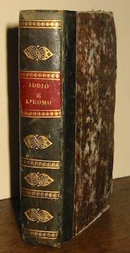 Gabriele Rossetti Iddio e l'uomo. Salterio di Gabriele Rossetti professore di lett. italiana nel Collegio Reale in Londra 1837 Bruxelles Per J.Valard (al colophon)