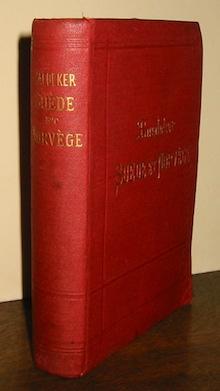 Karl Baedeker Suede et Norvege et les principales routes a travers le Danemark. Manuel du voyageur... troisième edition 1898 Leipzig Karl Baedeker editeur