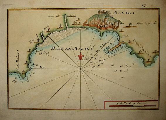 Allezard Jean Joseph - Roux Joseph Baye de Malaga 1804 Genova