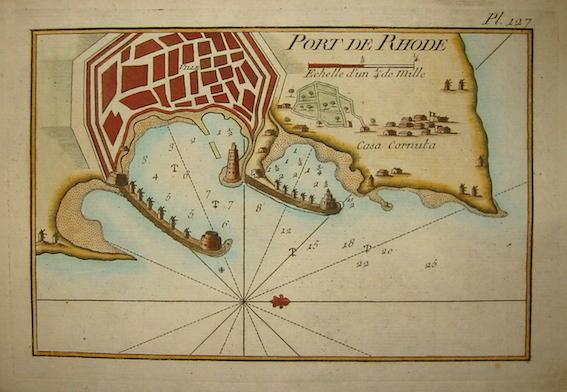 Allezard Jean Joseph - Roux Joseph Port de Rhode 1804 Genova