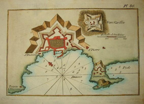 Allezard Jean Joseph - Roux Joseph Spalato 1804 Genova