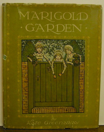 Kate Greenaway Marigold garden. Pictures and rhymes... s.d. (1900 ca.) London Frederick Warne & Co. Ltd