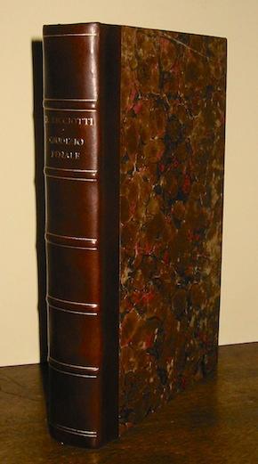 Domenico Ricciotti Del giudizio penale 1869 Roma Tipografia Sinimberghi