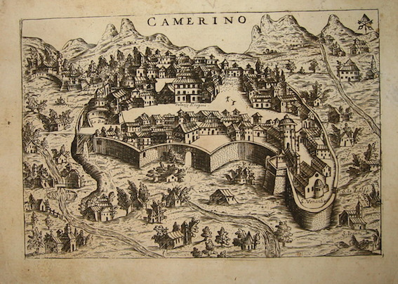 Bertelli Pietro (1571-1621) Camerino 1629 Padova