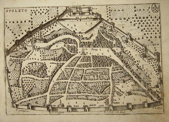 Bertelli Pietro (1571-1621) Spoleto 1629 Padova