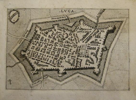 Bertelli Pietro (1571-1621) Luca 1629 Padova