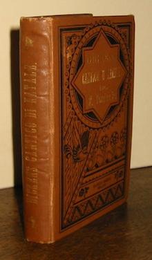 Charles Dickens Cantico di Natale in prosa. Racconto di spiriti. Prima versione italiana di Federigo Verdinois 1888 Milano Ulrico Hoepli