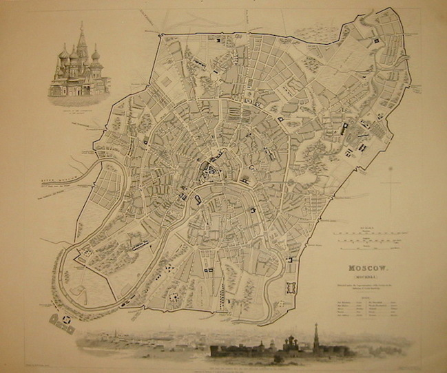 SDUK (Society for the Diffusion of Useful Knowledge) Moscow 1836 Londra