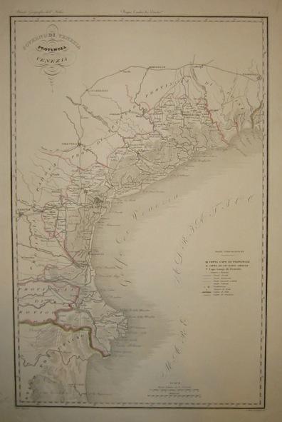 Zuccagni-Orlandini Attilio (1784-1872) Provincia di Venezia 1844 Firenze