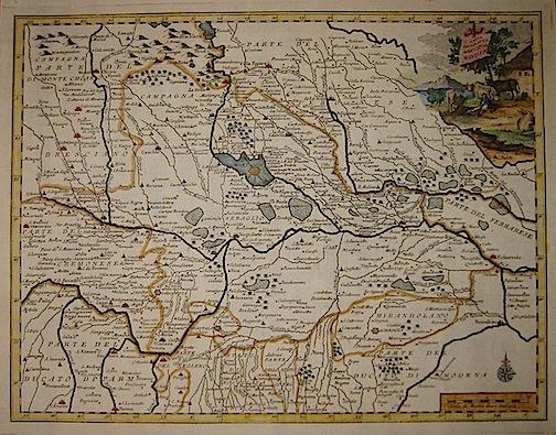 Cartina Geografica Della Provincia Di Mantova.Ex Libris Roma Libreria Antiquaria Albrizzi Giambattista 1698 1777 Carta Geografica Del Ducato Di Mantova Anno 1750 Venezia Italia Settentrionale